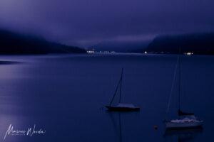 Blaue Stunde am Achensee