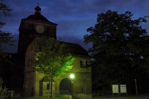 Heidelberger Schloss zur Blauen Stunde